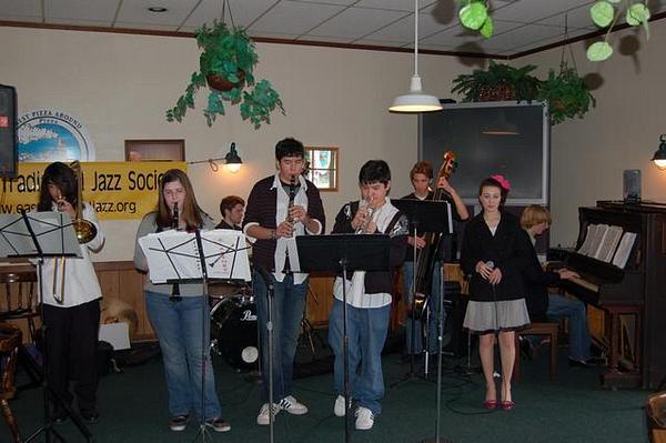 San Marin HS @ '08 Youth Dixieland Fest