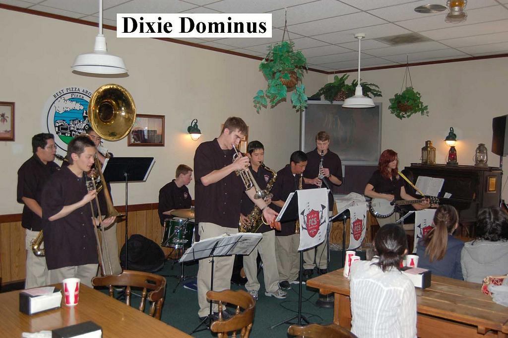 Dixie Dominus at 2009 Youth Dixieland Festival