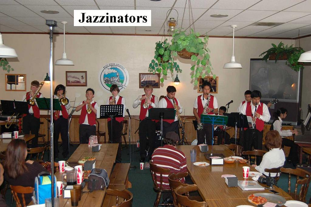 Jazzinators at 2009 Youth Dixieland Festival