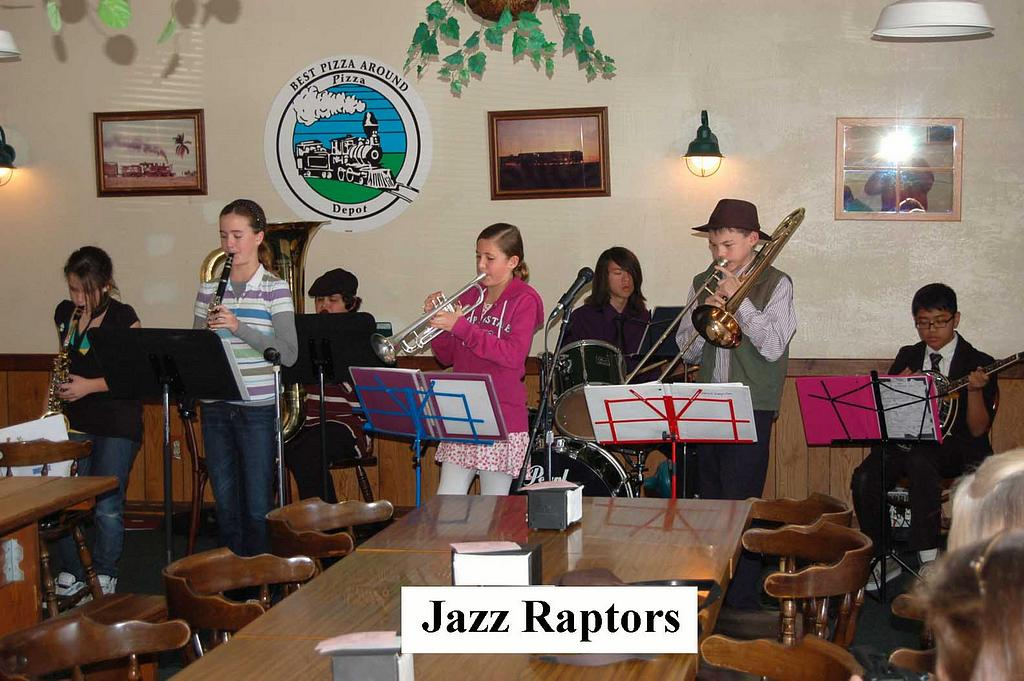 Jazz Raptors at 2009 Youth Dixieland Festival